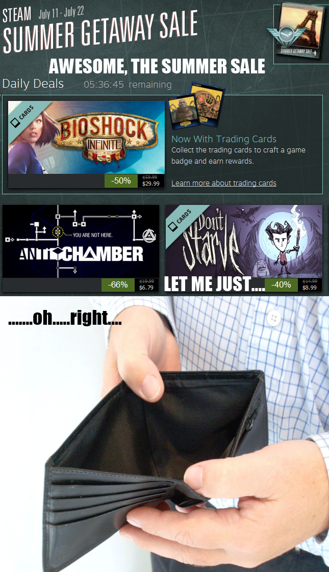Ahh, the summer sale