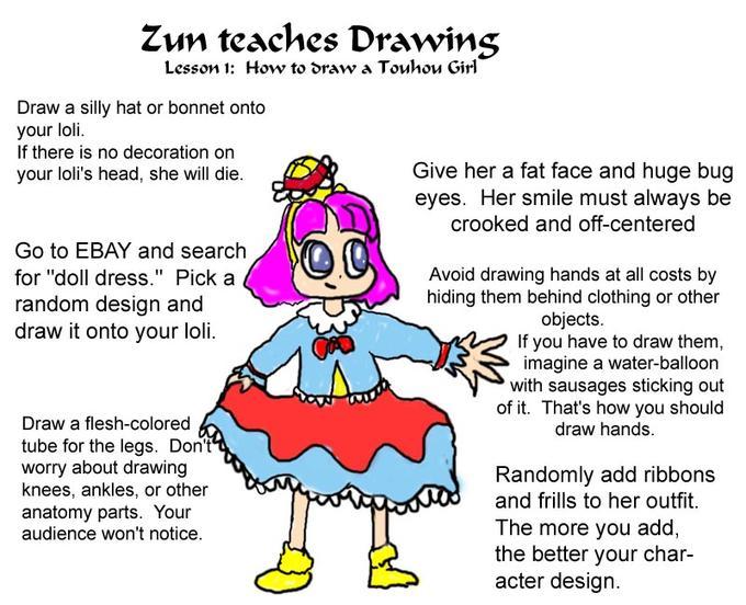 ZUN's designs