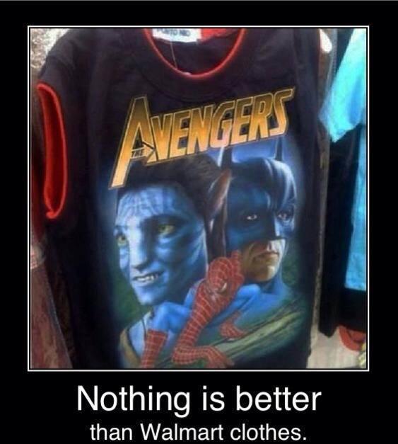 Walmart Clothes...