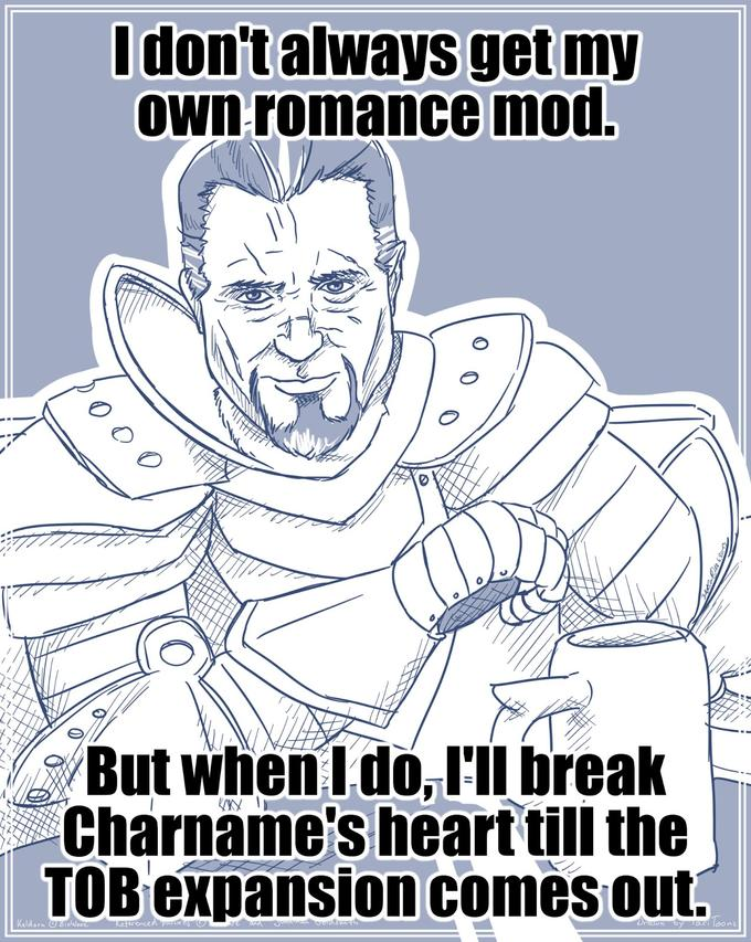 The most interesting Paladin in the World - Romance Mod