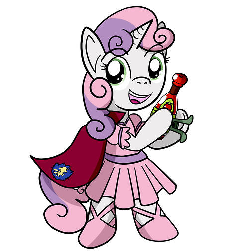 KND CMC Sweetie Belle