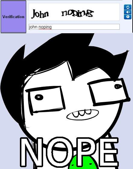 """John """"Noping"""""""