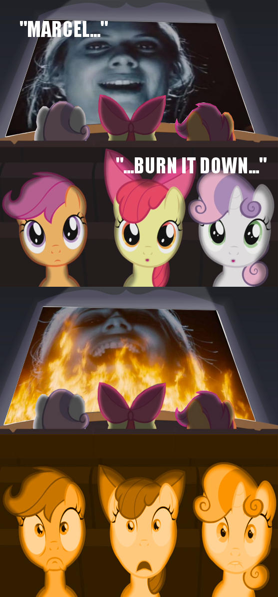 I have a message for the Cutie Mark Crusaders...