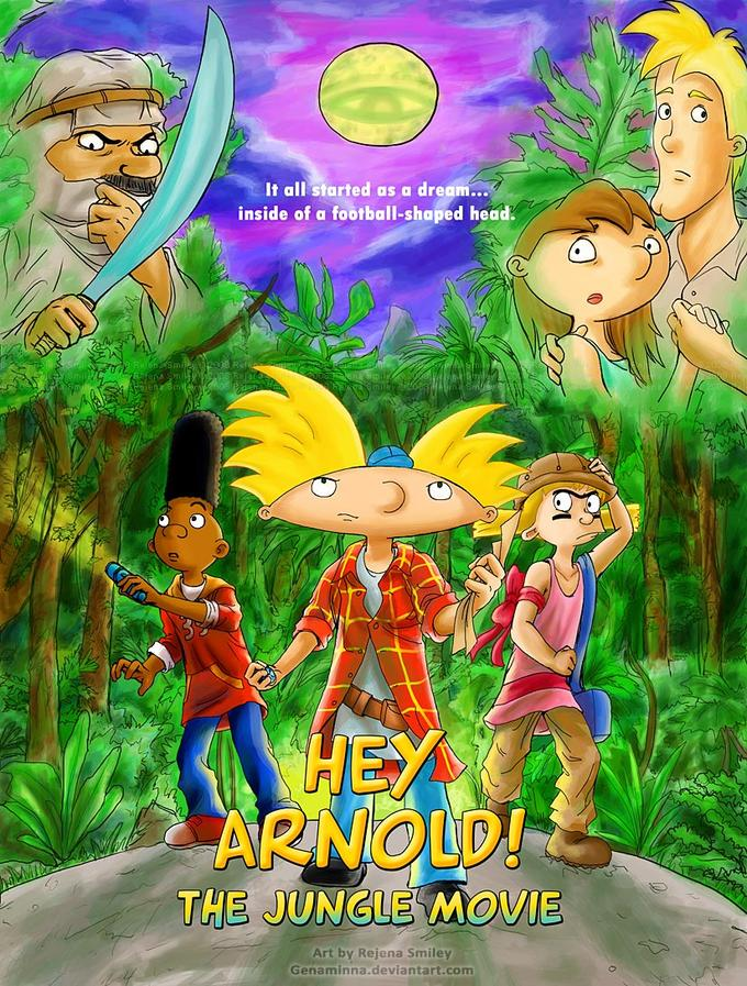 Hey Arnold! the movie fan poster