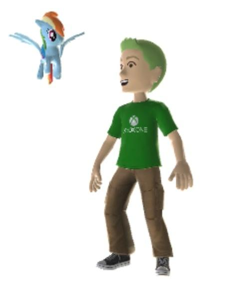 Ponies on Xbox, suck it Sony.