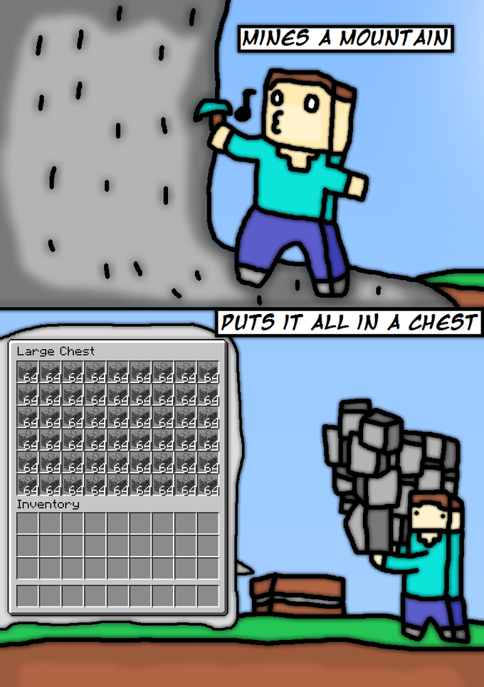 Curse You, Minecraft Logic