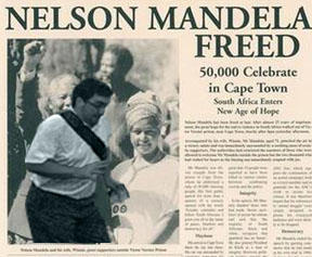 In the way guy ruins Nelson Mandela Freedom