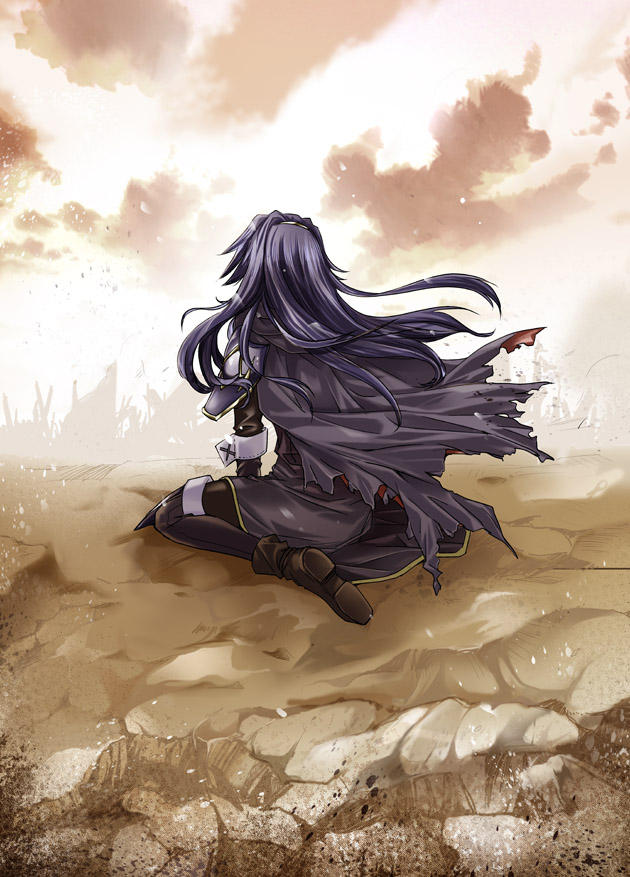 Lucina sees the destruction of her kingdom