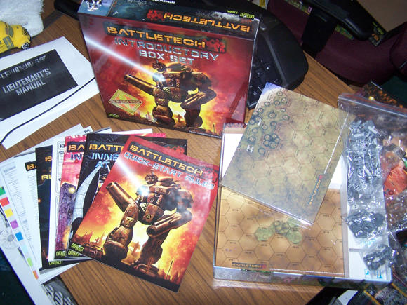 BattleTech, 25th Anniversary Introductory Box Set