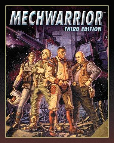MechWarrior 3rd ed. Original FASA Cover
