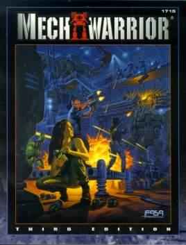 MechWarrior 3rd ed. FanPro Reprint Cover