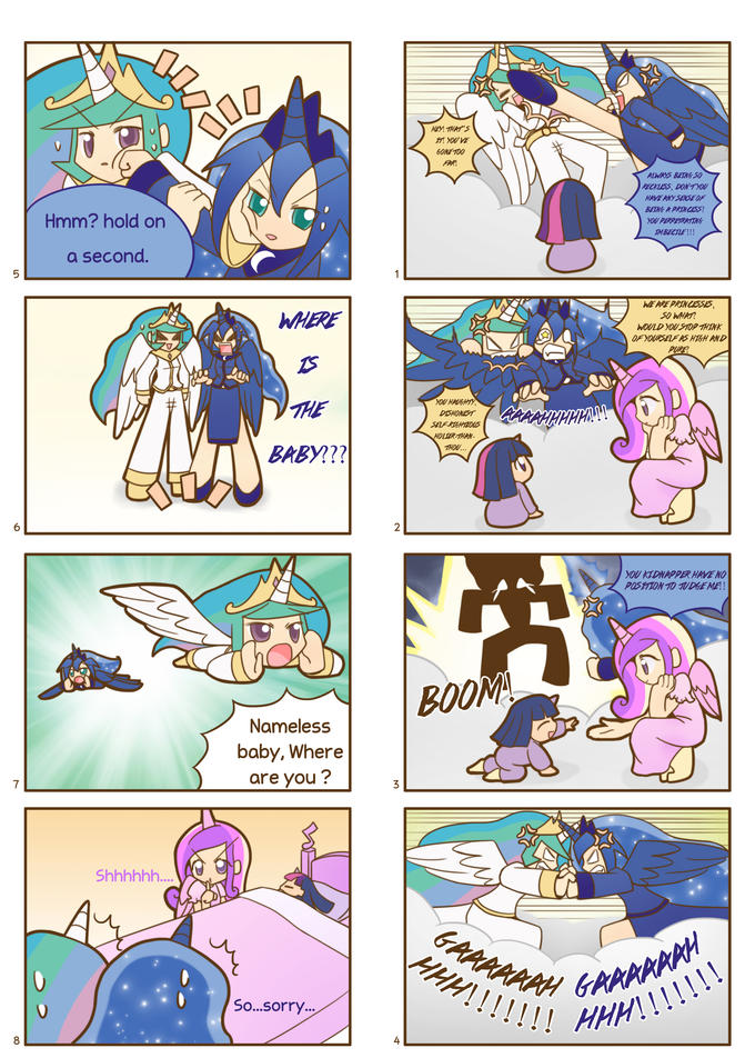 Humanized pony comic 5 ,6