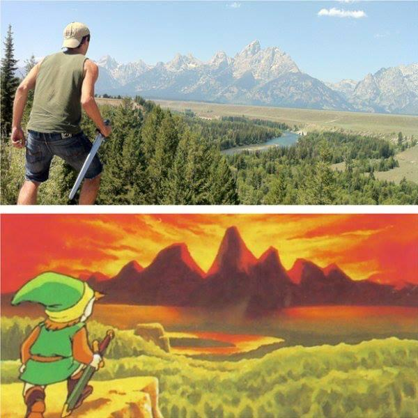IRL Legend of Zelda Image