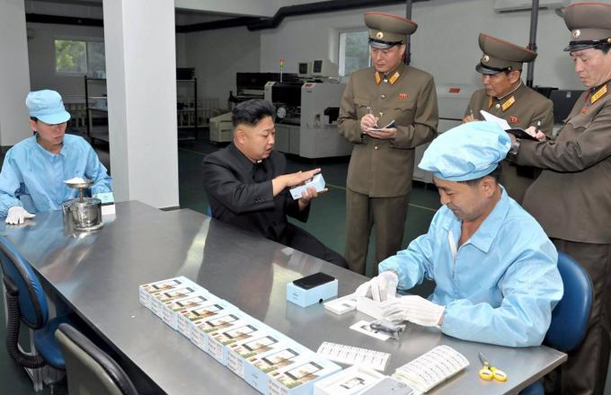 North Korea's first smartphone comes with a complimentary 200g of cocaine