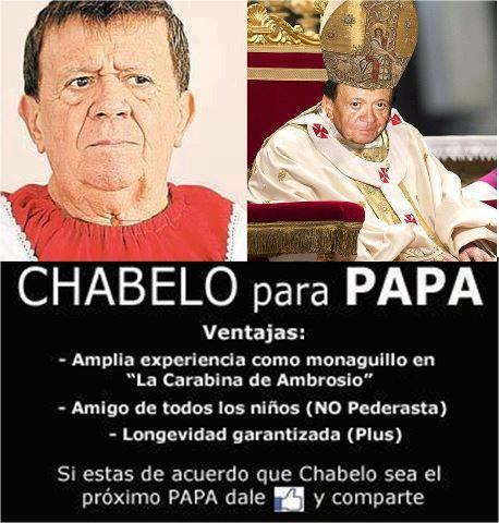 Chabelo for Pope