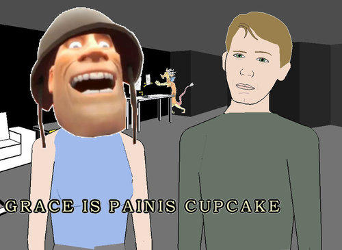 Grace is Painis Cupcake