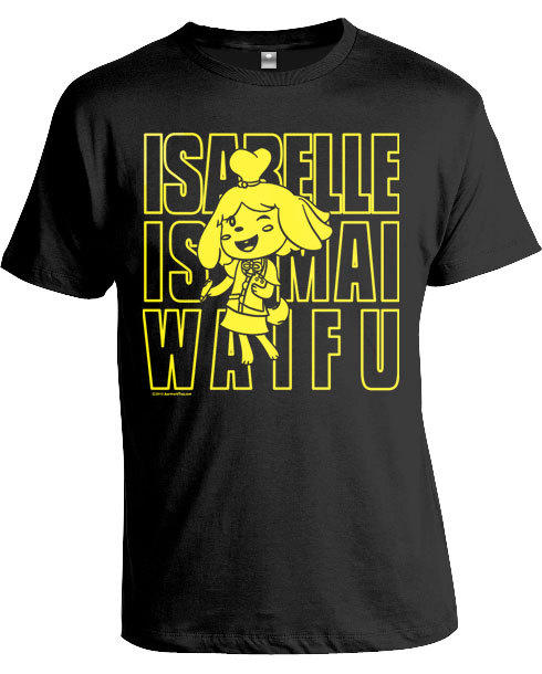 Parody shirt :Isabelle is mah waifu