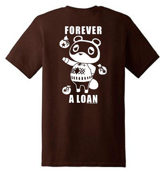 Parody shirt:Forever a loan.