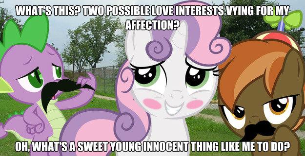 Spike vs. Button Mash