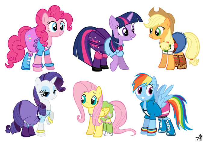 Equestria Girls Outfits