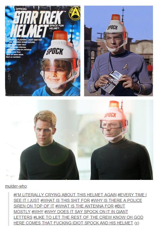 Spock's Helmet