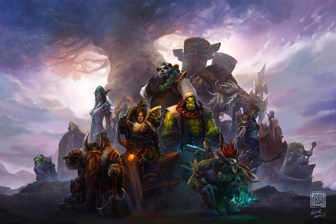 Wardens of Nordrassil by 6kart