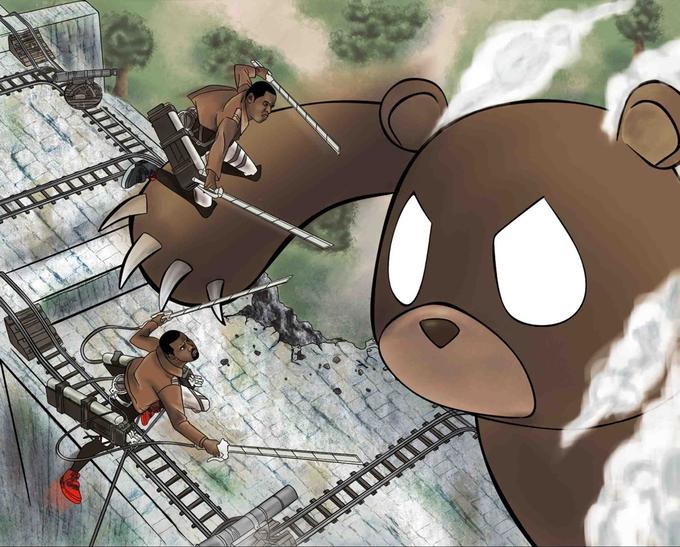 attach on titan bear