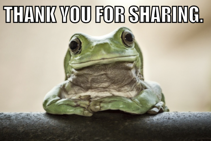 Thank you for sharing.