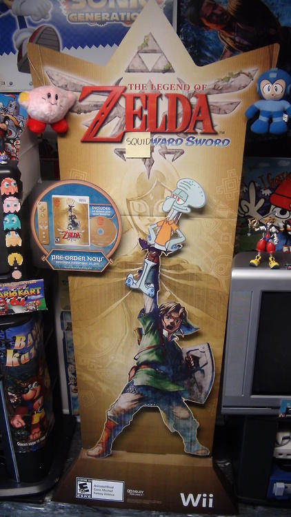 The Legend of Zelda: Squid-ward Sword