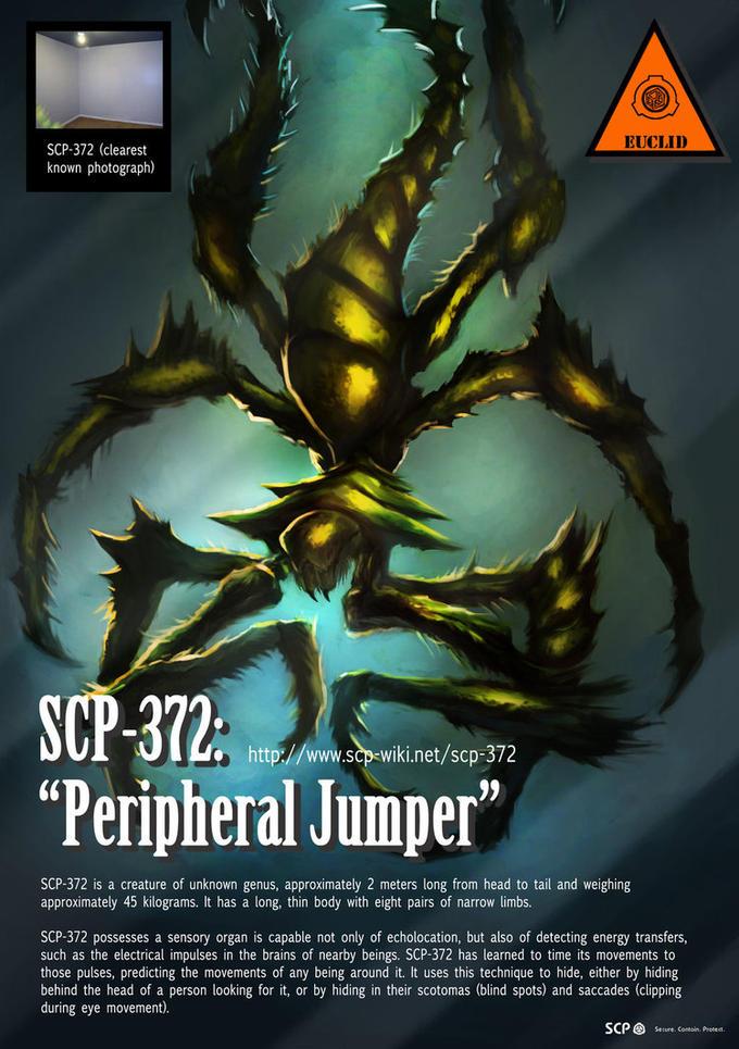 "SCP-372 ""Peripheral Jumper"""