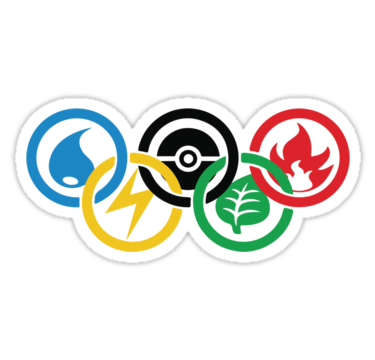 A logo for the Japanese Olympics