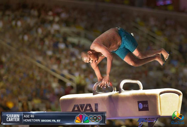 Rio 2016 - Gymnastics with Shawn Carter