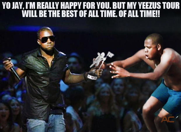Kanye vs. Jay-Z at the MTV VMAs