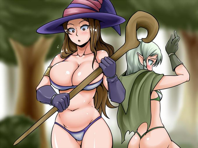 Sorceress and Elf