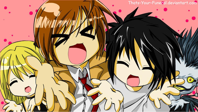Lucky Star X Death Note