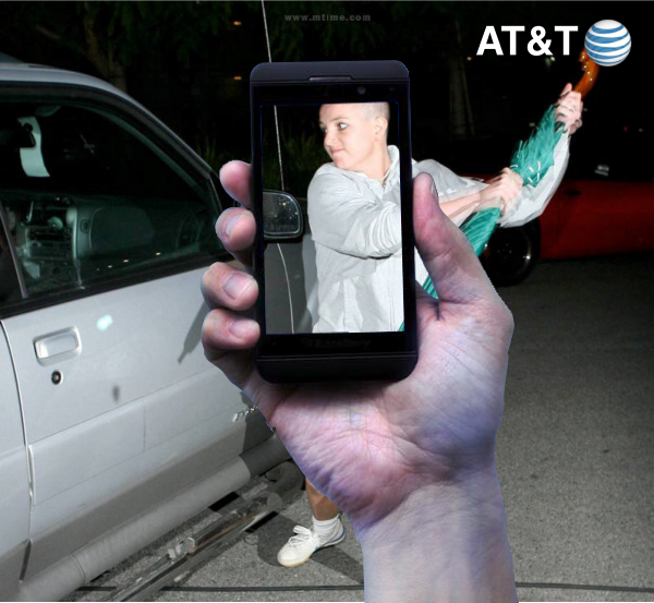 AT&T Remembers Crazy Brittany Spears