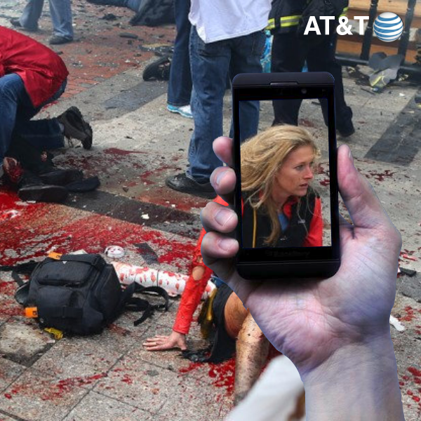 AT&T Remembers The Boston Marathon Bombing