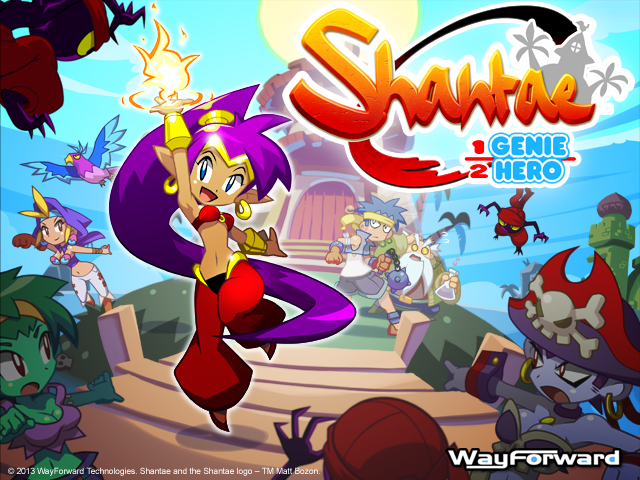 Shantae in HD