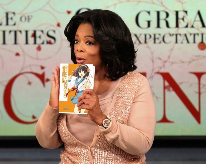 Oprah Winfrey Recognizes Haruhi as God.