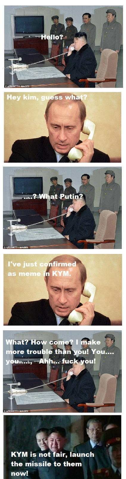 Putin call his friend