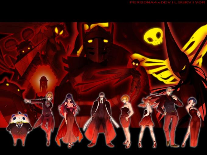 Persona 4 Mafia Red