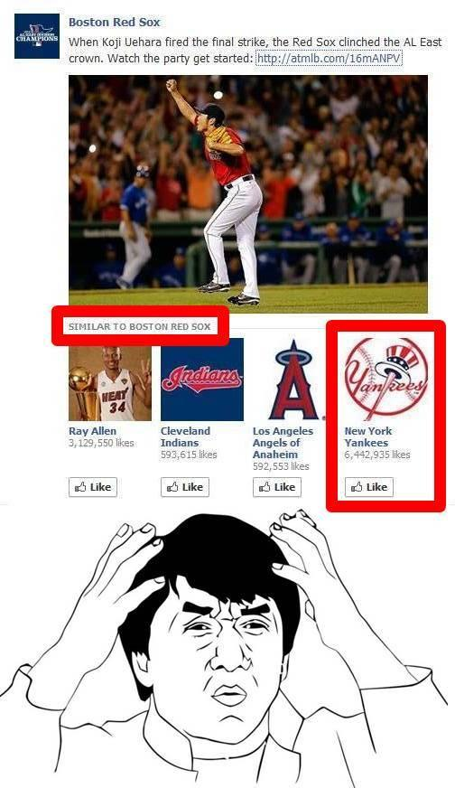 New York Yankees similar to Boston Red Sox...?