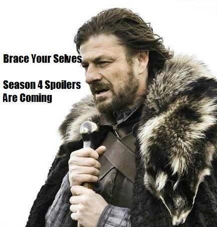 Season 4 Spoilers Are Coming