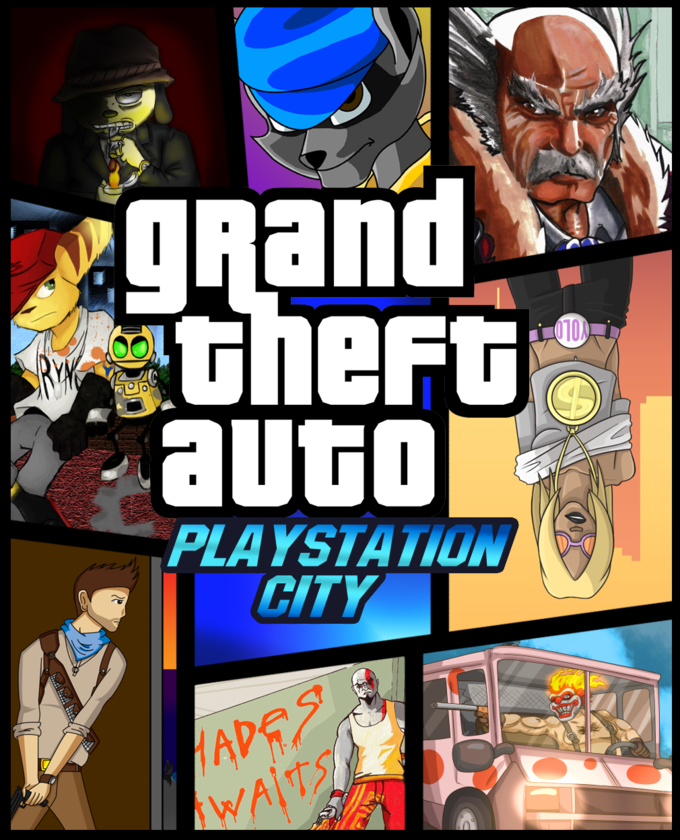 GTA Playstation City
