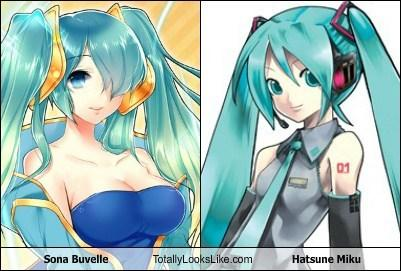 Sona Buvelle Totally Looks Like Hatsune Miku