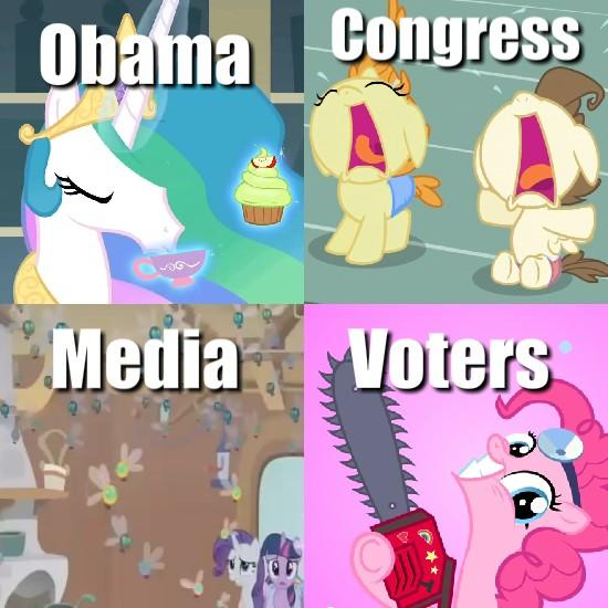 Ponies explain the government shutdown