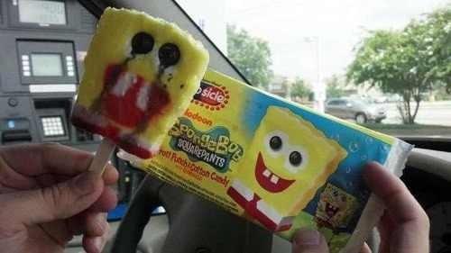 Emo SpongeBob Popsicle