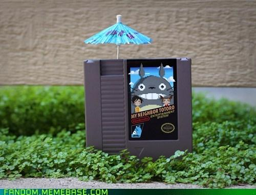 My Neighbor Totoro NES cartdrige