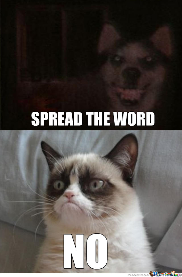 Smile.dog vs. Grumpy cat