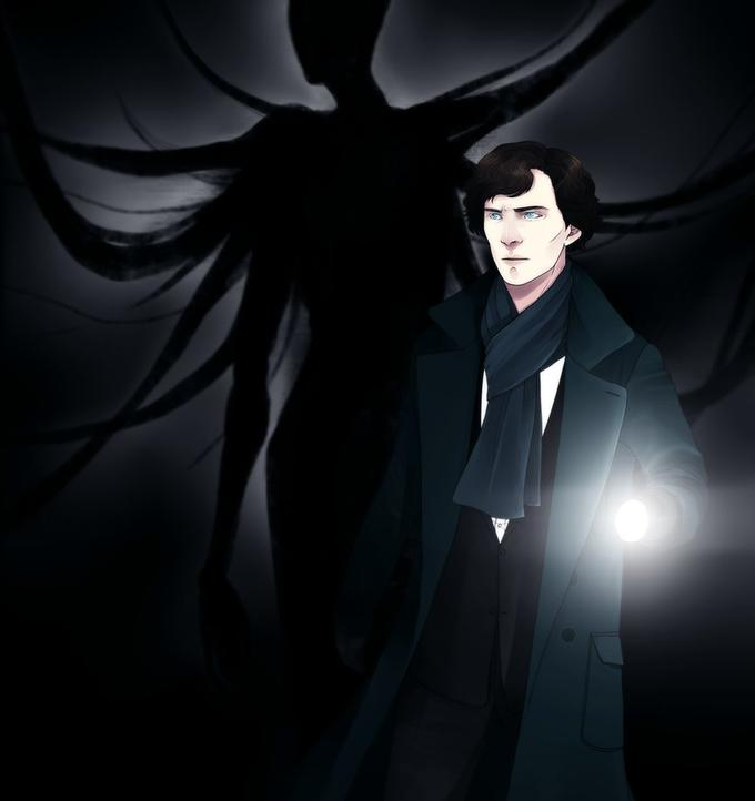 Sherlock vs Slenderman